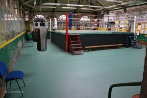 Shoreditch boxing ring